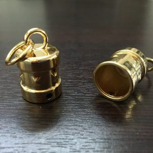 Ciondolo 3# con anellino tondo