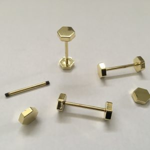 piercing esagonale